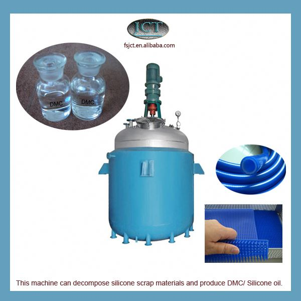 machine for Pyrolysising rtv 2 molding silicone rubber