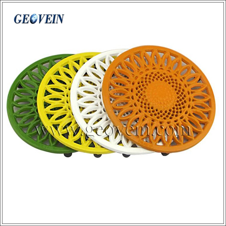Enamel Tableware Cast Iron Metal Cooking Trivet Set