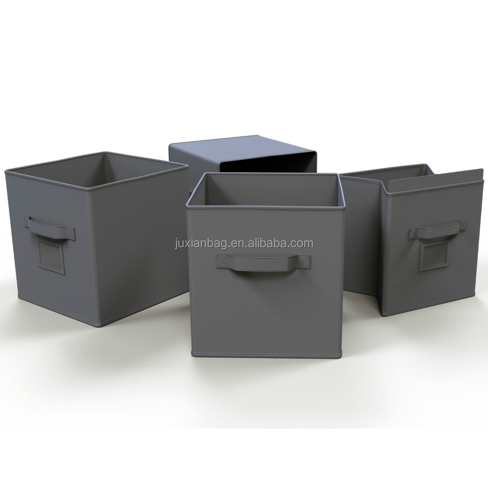 Perfect Non-woven Collapsible Storage Bins/boxes Fabric drawers