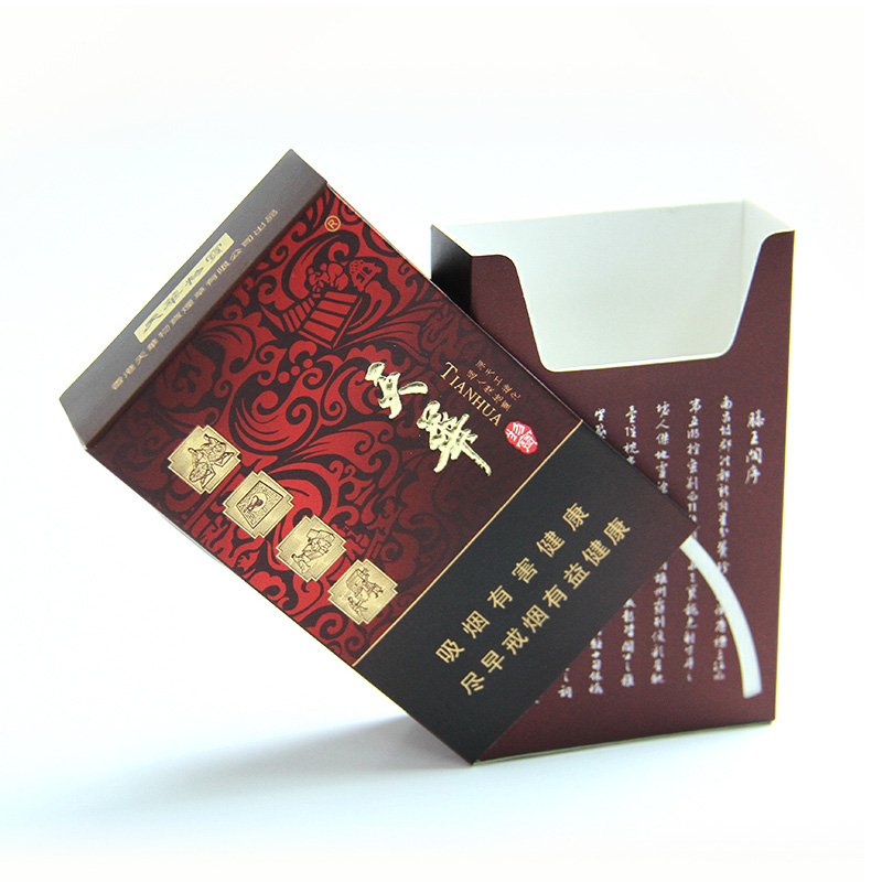 custom made paper cigarette box full color printing