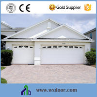 FINGER PROTECT DOUBLE TRACK HIGH QUALITY remote control Automatic Sectional Garage Door