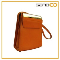 Sandoo new product 2016 china supplier vintage leather camera bag knit