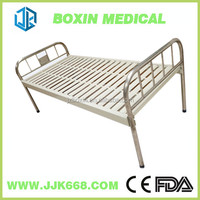 Hospital Instrument Care Bed Stainless Steel Flat Bed
