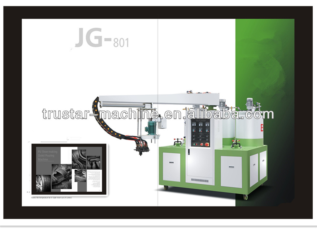 JG -801 PU Shoe Sole Moulding Making Machine Price