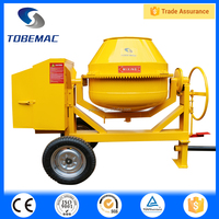 TOBEMAC CM-2C movable diesel engine petrol power cement mixer
