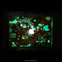 Pag Creative Custom Vinyl removable luminous laptop stickers for Macbook