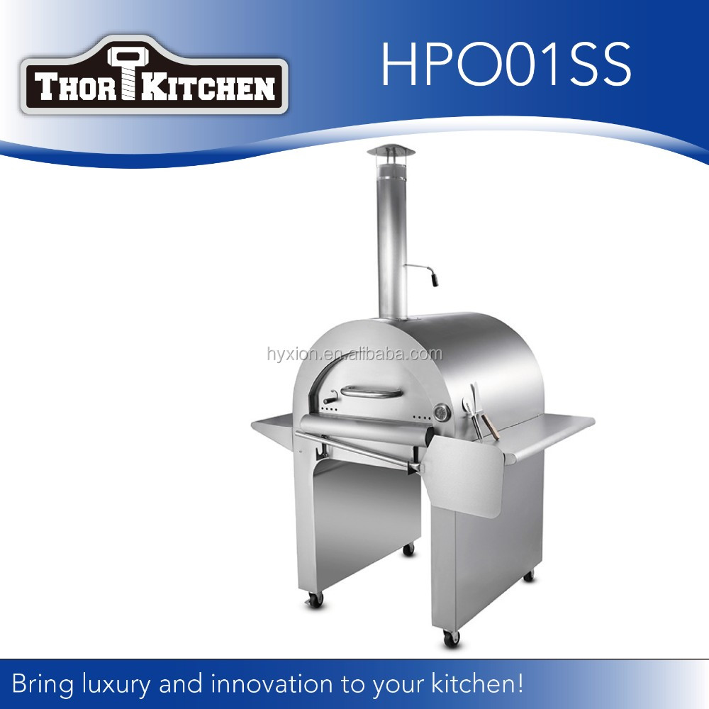 HPO02SS stainless steel commercial pizza oven for sale