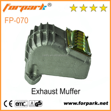 Chinese Yiwu Forpark Garden Tool Part MS070 Gas Chainsaw Exhaust Muffler For Sale