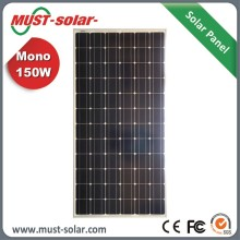 Stylish lowest monocrystalline solar panel price 160w solar kit