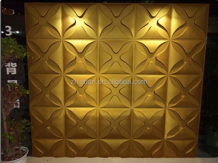 Plastic 3d board wall panel for living room decoration, View Plastic ...