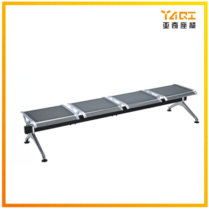 Metal stainless steel chair airport bench seating(YA-117)