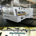 automatic corrugated carton box flexo printing die cutting machine
