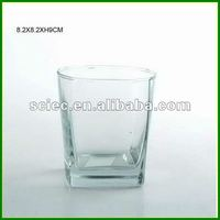 Square Whisky Glass Cup
