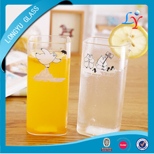 380ml heat resistant drinking glasses wholesale