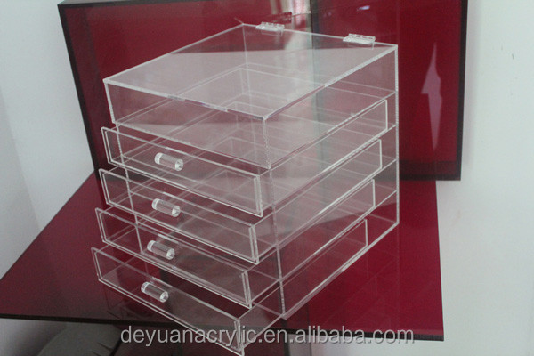 Acrylic/Plastic/Lucite make up organizer