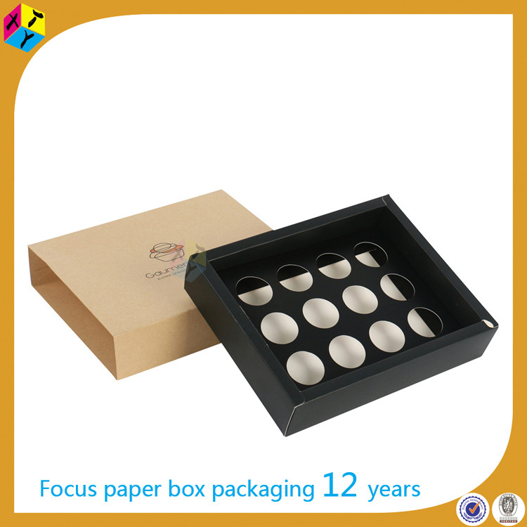 custom drawer eco friendly food muffin box packaging
