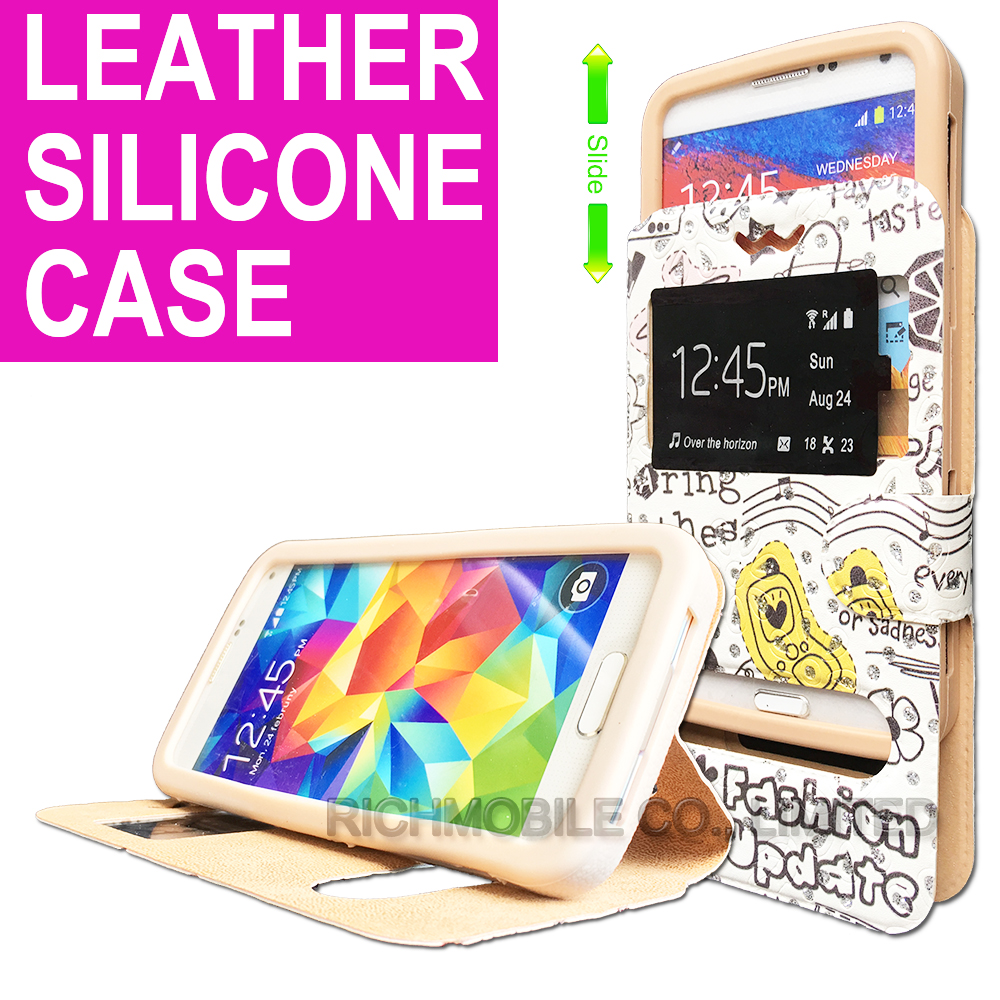 for Swipe Konnect Power Rhinestone Maple 3D Relief Print Soft Silicone Leather Slider Book Wallet Stand Case Cover Universal