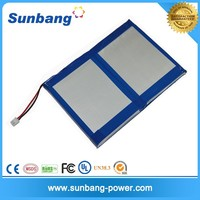 OEM service Li polymer battery for Samsung Galaxy with BMS protection