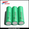 Gold business battery Wholesale price 3.7V rechargeable samsung 18650 22f/fm li ion 2200mah cells