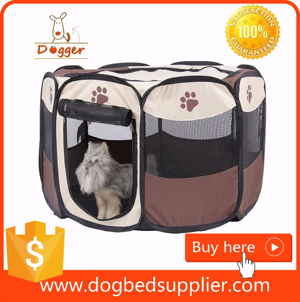 Wholesale pet security cages portable dog cages pet playpen