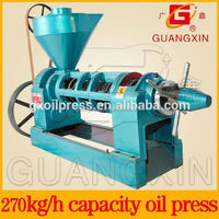 raw and cooked oil flax expel equipment
