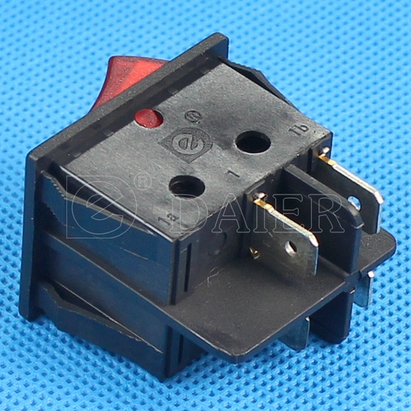 Illuminated Double Pole Rocker Switch Whole Point Of Silver