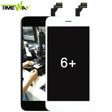 2017 hot seller new Afor iphone 6 plus lcd screen, Timeway for iphone 6 lcd display, for iphone 6 monitor digitizer assembly