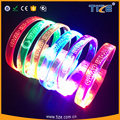 2017 Wholesale Hot New Products Birthday Party Decoration Night Light Led Flashing Multiple Color Party Wristband