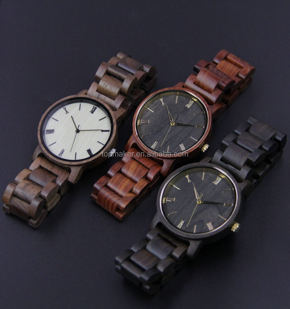 Wholesale Professional Supplier 2017 New Wood Bezel Watch