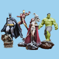 Wholesale resin model kit figures resin statues