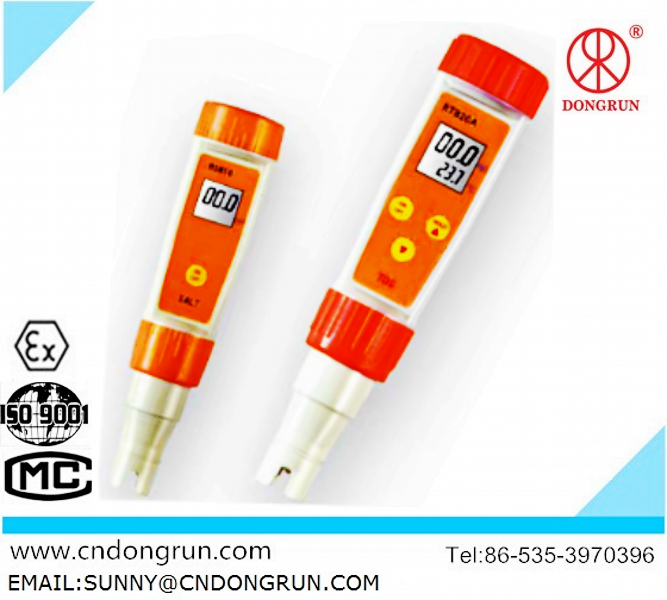 pen type Conductivity/TDS/Salinity tester /manufacturer/2014 latest water analyzer/digital display
