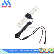car use ATSC ISDB FM Antenna, Signal Amplifier Booster for car, Indoor DVB-T HDTV Digital TV Antenna