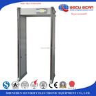 33 zones portable door frame walk through gold metal detector price