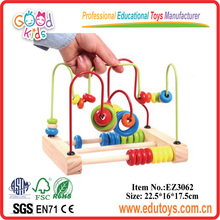 Educational Toys For 18 Month Old,Wooden Racking Beads Toy