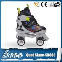 2016 latest model retractable professional design quad roller skates wholesale