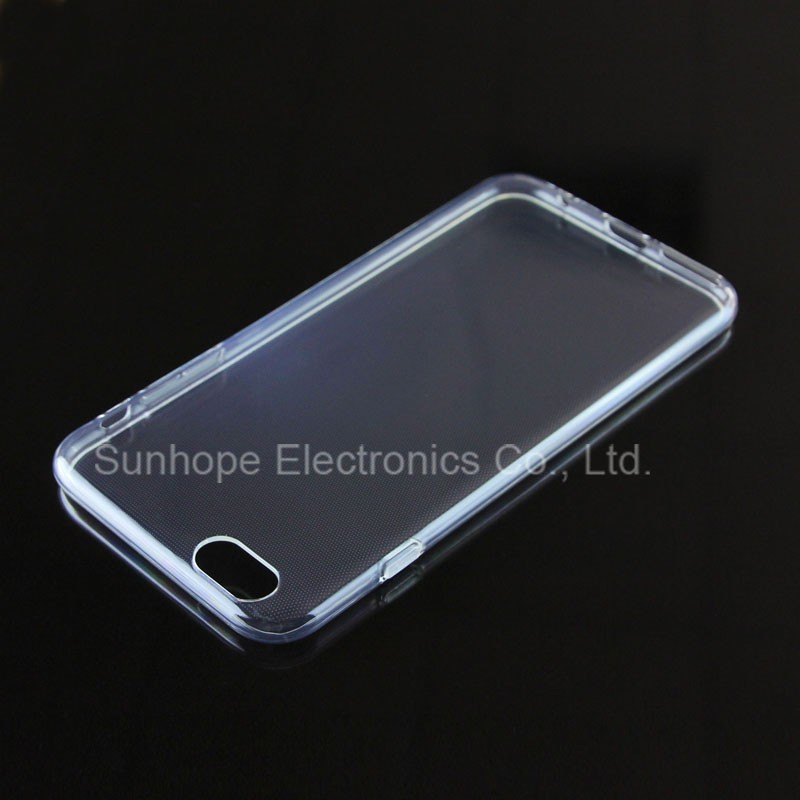 New Transparent tpu soft cell phone case for Iphone 7 Pro tpu cover