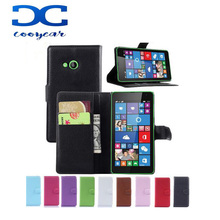 New Arrival Wallet Style PU Leather Flip Cover Case For Microsoft Nokia Lumia 535