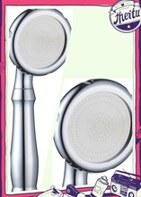 stainless steel and abs plastic hand shower head