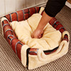 2017 Multifuctional Dog House Nest With Mat Foldable Pet Dog for sale Bed Cat Bed For Small Medium Dogs Travel Pet Kennel