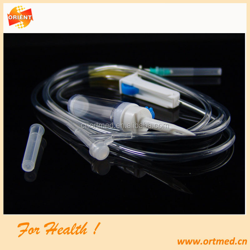 low price disposable infusion set with butterfly needle