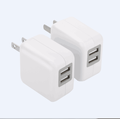 New PC V0  travel charger with ETL certification 2.1A wall charger
