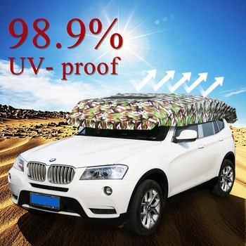 SUNCLOSE Hot Selling Waterproof hail protection car umbrella Car Roof Tent for Hot Summer