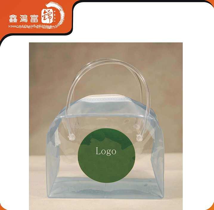 small quantity accepted cheap clear plastic cosmetic bags without logo