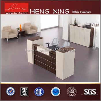 Modern reception table design office reception desk hx for Design office xing