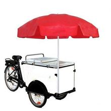 Cool Motorized Ice Cream For Cargo High Speed Tricycle