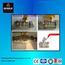 HPB58-2 long butterfly brass ball valve