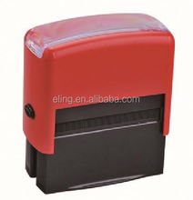 Plastic Self inking Stamp educational square teacher stamp/children rubber s