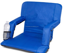 Wide Stadium Seats Chairs for Bleachers or Benches - Enjoy Extra Padded Cushion Backs and Armrests - Fit Sport Positions