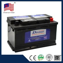 China supplier 58043 DIN style sealed lead acid maintenance free battery factory in guangzhou