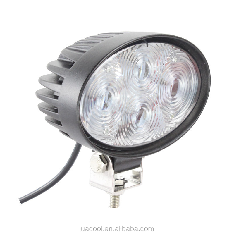 12W LED work lights, automotive engineering machinery lights, overhaul spotlights, led, work, forklift lights